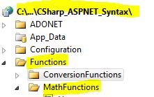 C-Sharp ASP.NET Syntax Functions MathFunctions Asin