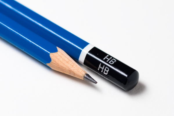 The pencil is one of the most basic graphic design tools.