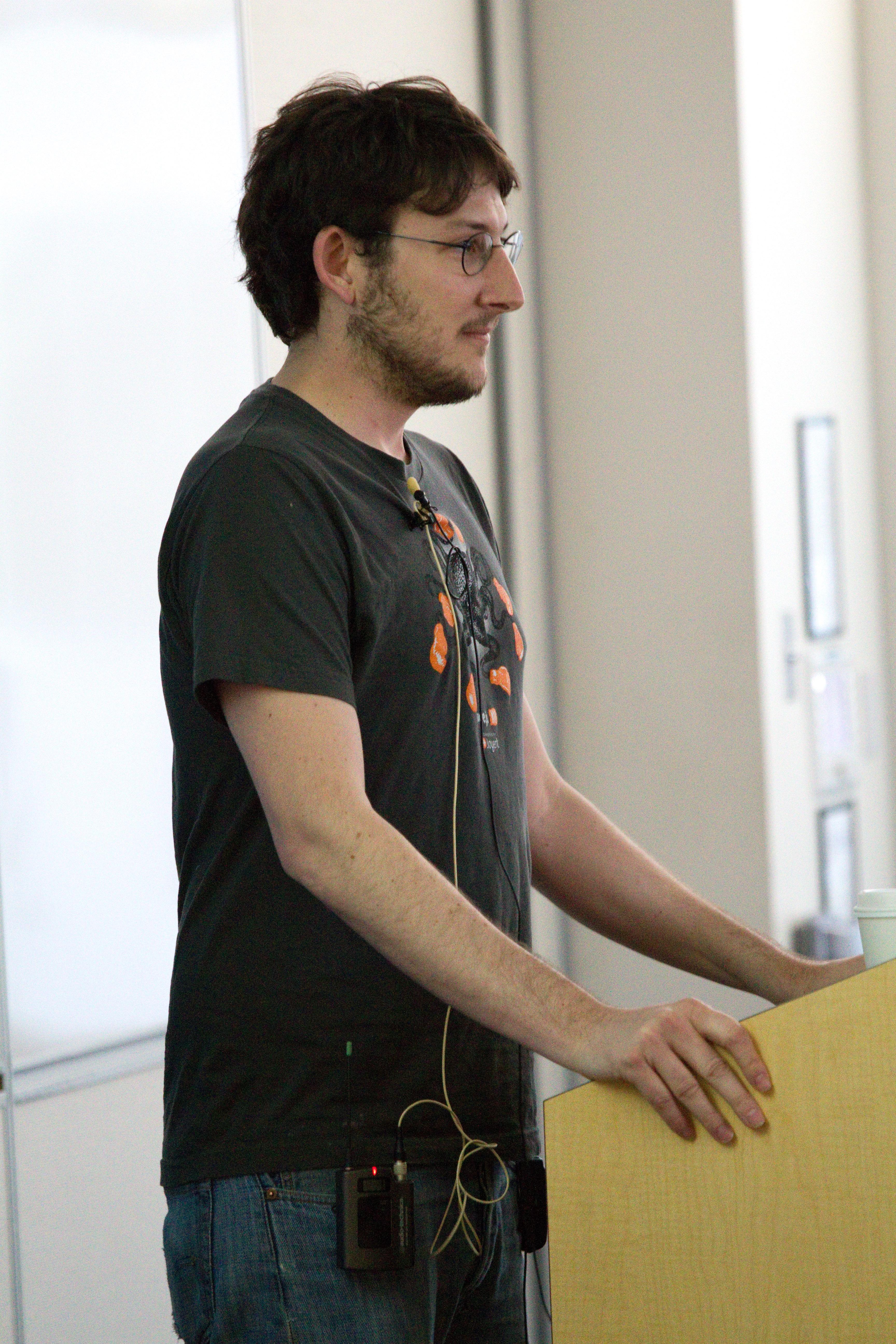 Ryan Dahl, creator of Node.js