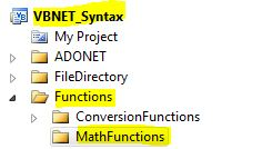 VB.NET Syntax Functions Asin